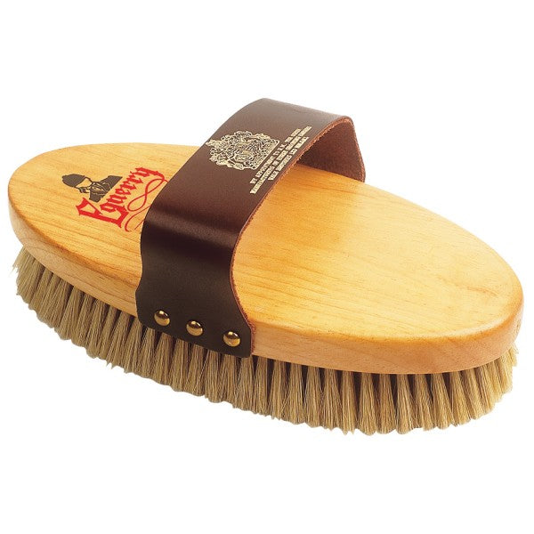 Equerry Pure Black Bristle Wood Back Body Brush