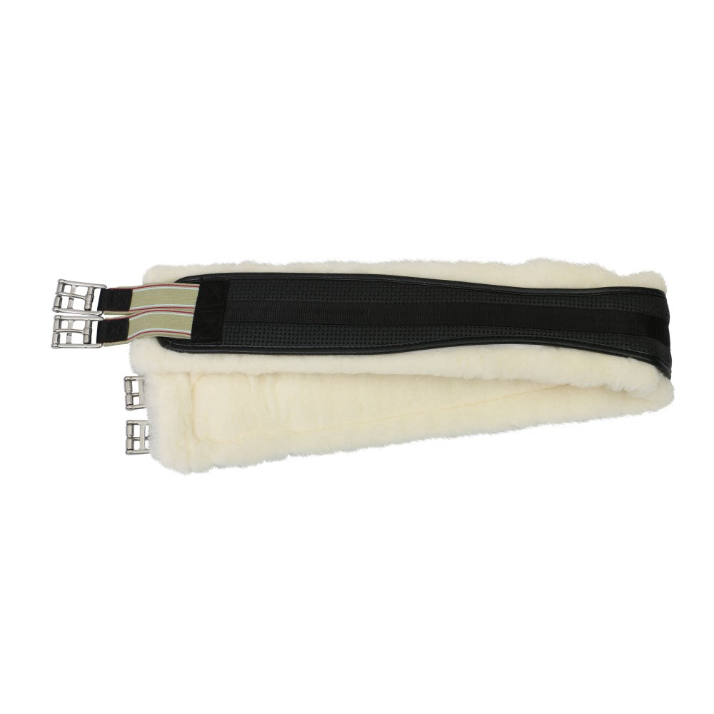 Equi-Prene Elastic Wool Lined Jump Girth with Removable Lining