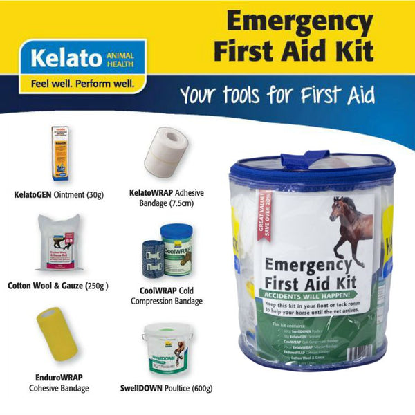 Kelato Emergency First Aid Kit