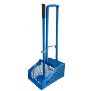Manure Scoop Long Handle Blue