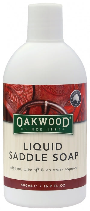 Oakwood Liquid Saddle Soap 500ml