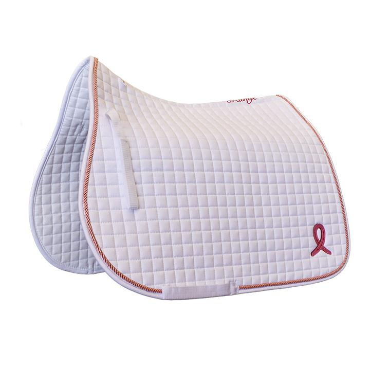 Grainge Pink Ribbon Saddle Cloth