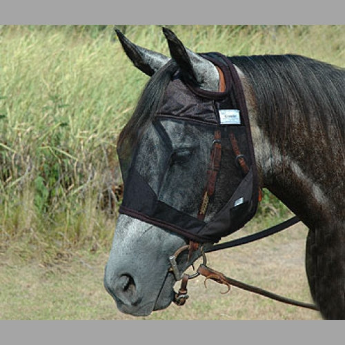 Cashel Quiet Ride Fly Mask Standard