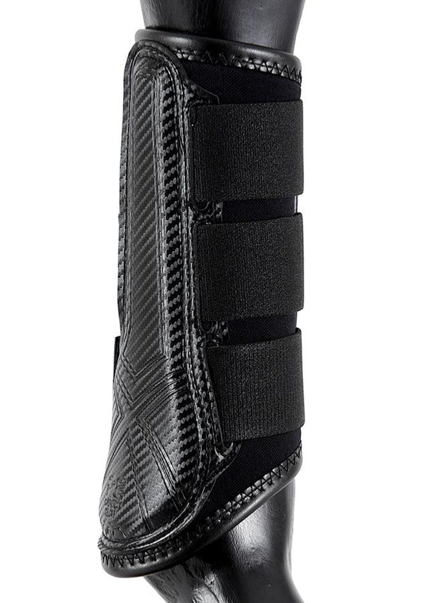 Carbon Air-Tech Single Locking Brushing Boots