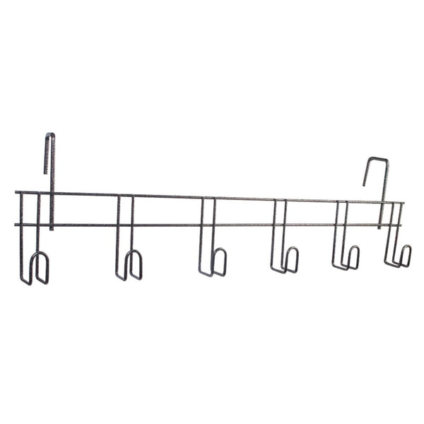 Six Hook Tack Rack w/Over Wall Hanger