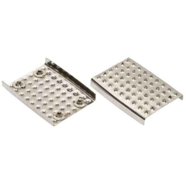 "Wembley Stirrup Pads 4 3/4"" Stainless Steel"