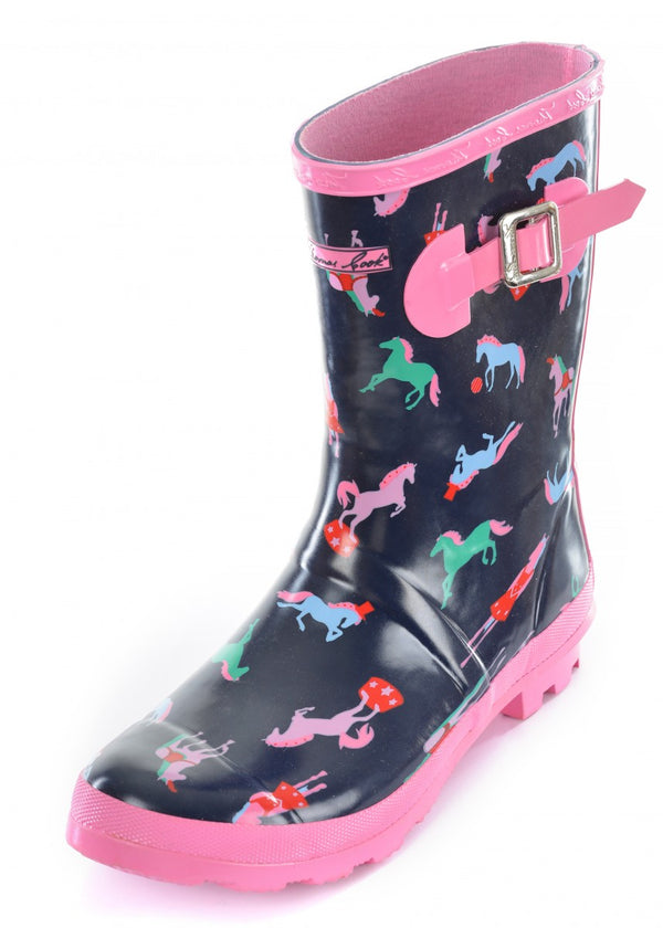 Girls Circus Horse Gumboot