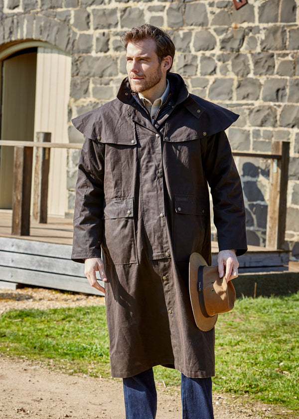 High Country Oilskin Long Coat