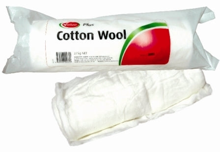 Value Plus Cotton Wool 375gm