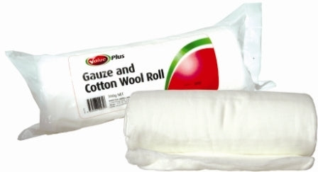 Value Plus Gauze & Cotton Wool Roll
