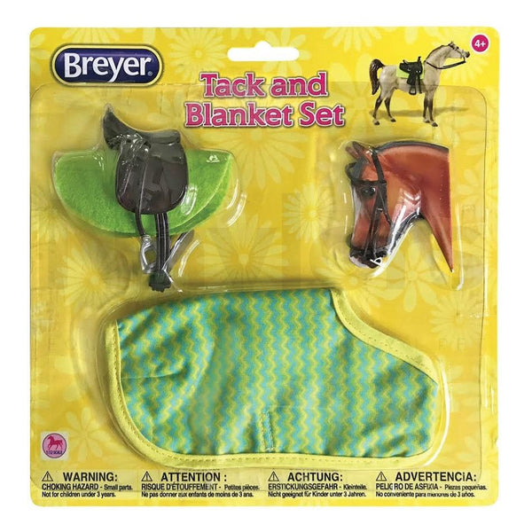 Breyer Classic Tack & Blanket Set Green