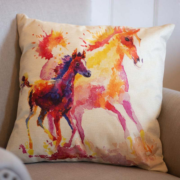 Cushion Cover Mare & Foal