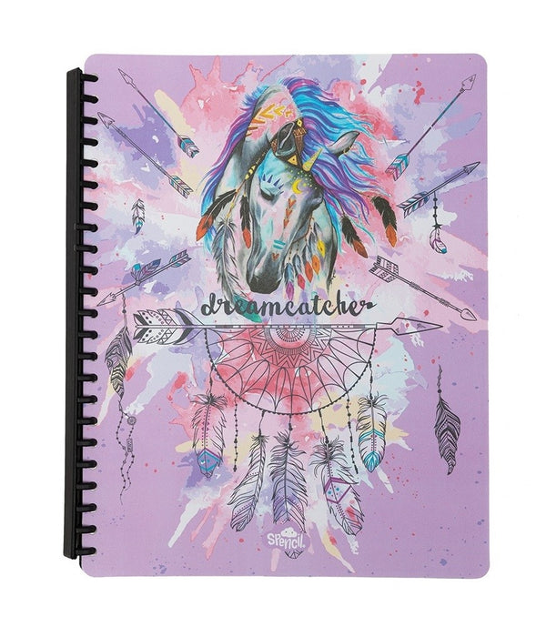 A4 Display Book - Dreamcatcher Horse