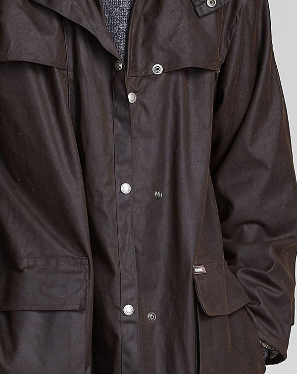 Driza-Bone Drovers Oilskin Men's Coat - Brown XXL