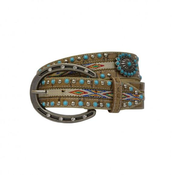 Pure Western Women's Aztec Belt