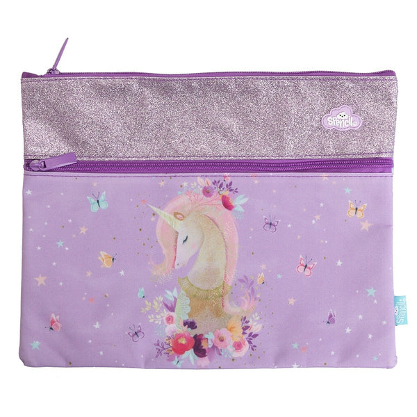 A4 Pencil Case - Pure Magic Unicorn