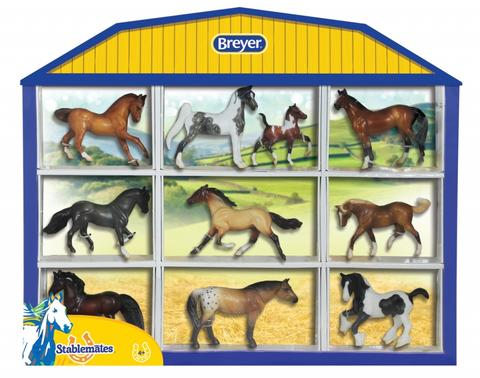 Breyer Stablemates Shadow Box