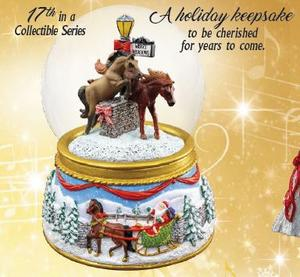 Breyer Merry Meadows 2019 Snow Globe
