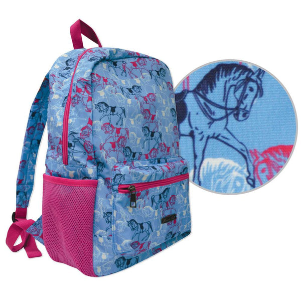 Horse Print Backpack and accessories
