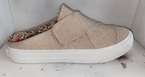 The Yvonne - open back sneaker