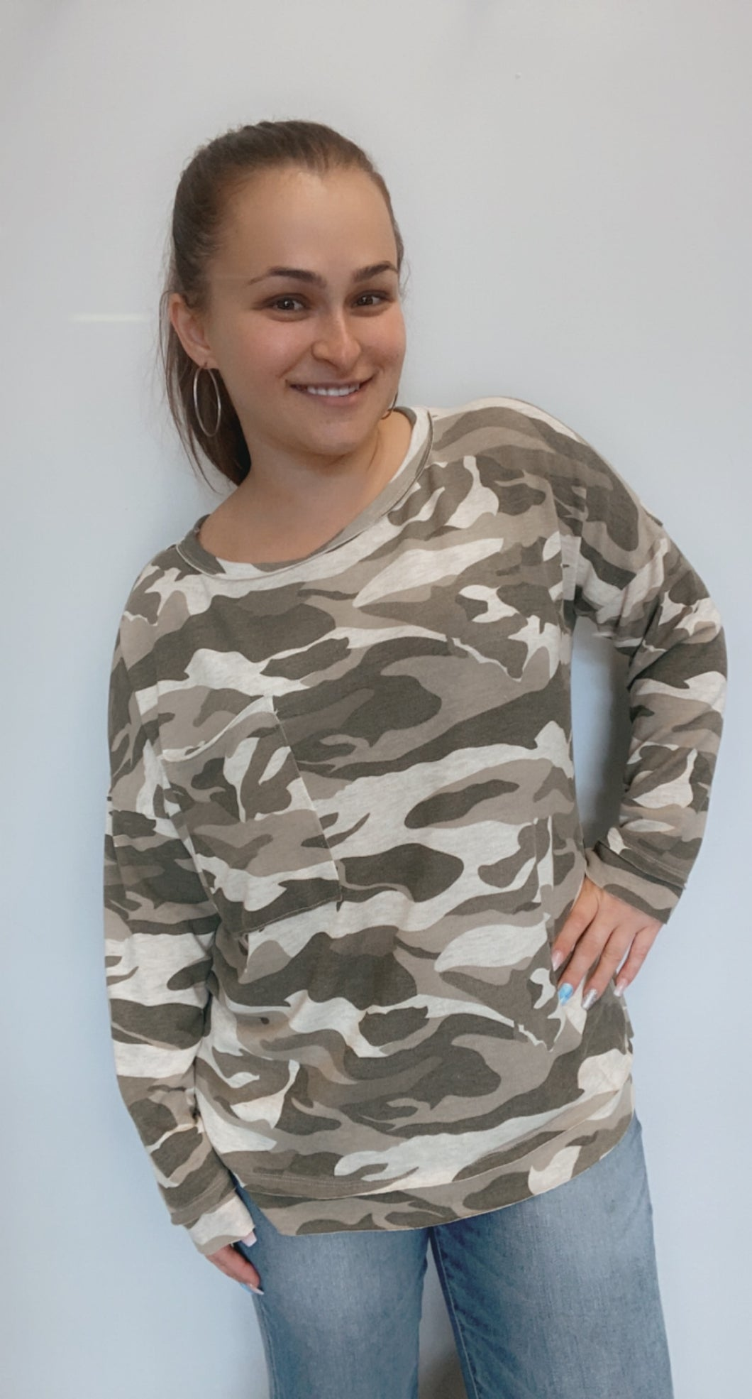 Camo pocket shirt