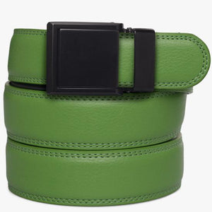 Kids Green Leather Belts