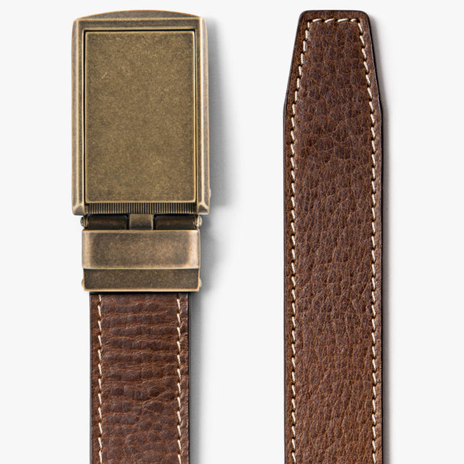 Woodland Full Grain Leather Belt