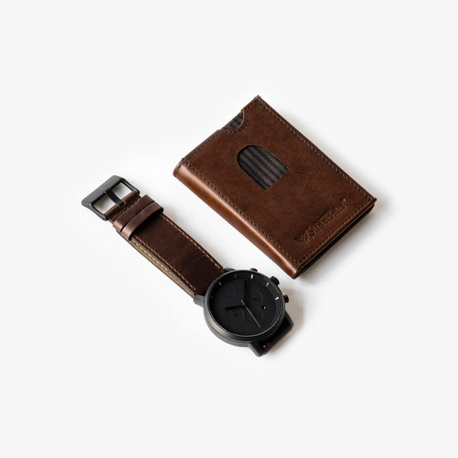 Nightcap Watch and Wallet Set