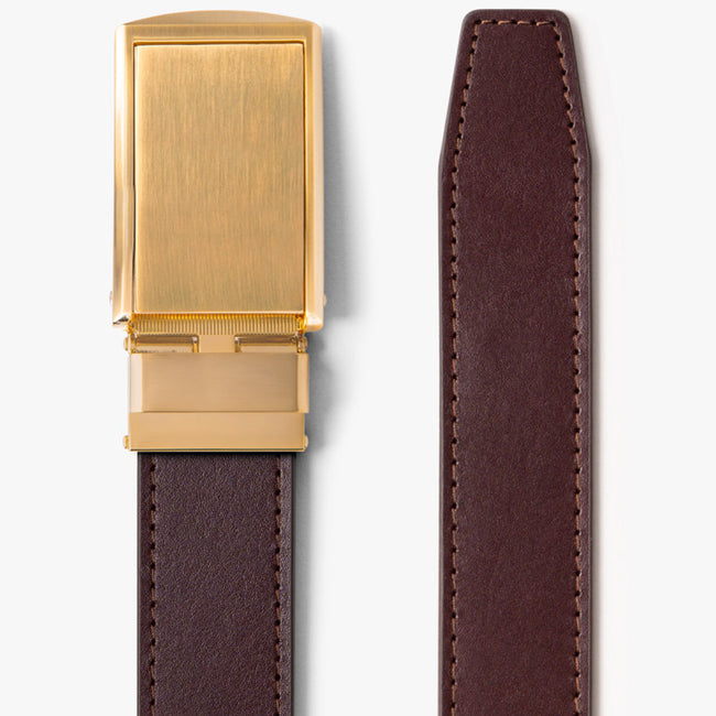 Cordovan Full Grain Leather Belt