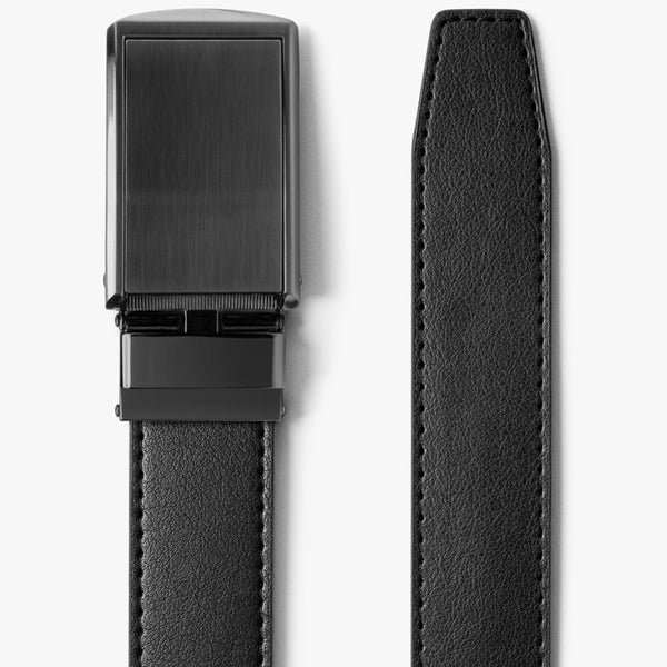 "Nylon Ratchet Belt 1 3//8/"" with Automatic Slide Buckle,Fully Adjustable Web Belt"
