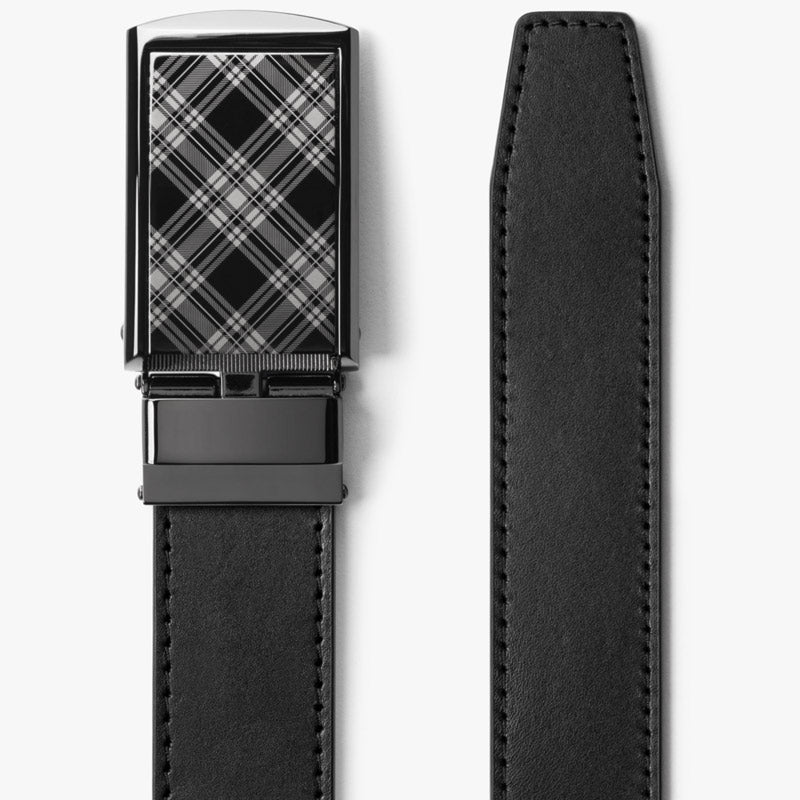 Onyx Black Full Grain Leather Belt