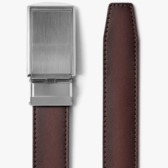 Mahogany Full Grain Leather Belt
