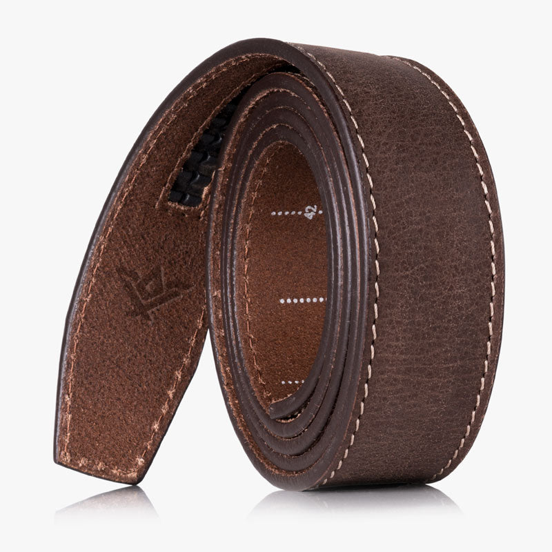 Wide Leather Strap