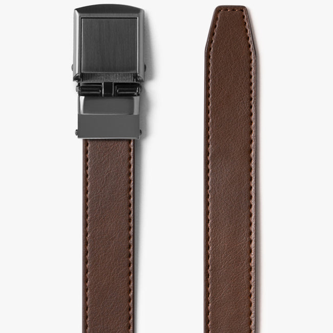 Skinny Mocha Brown Belt