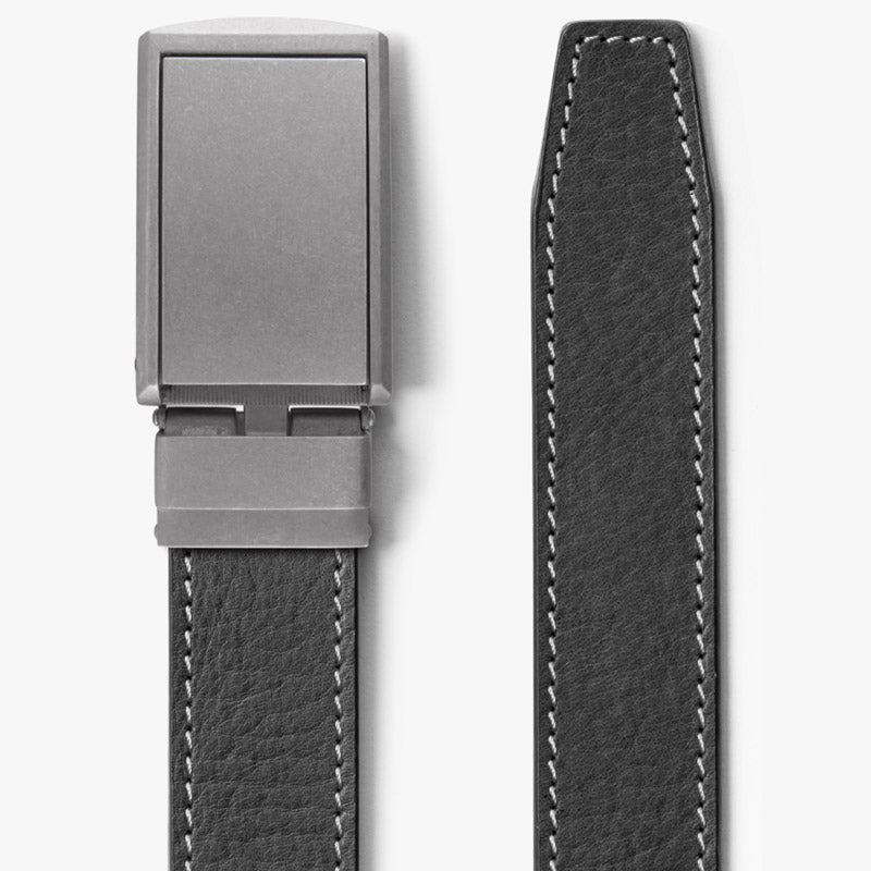 Ash Full Grain Leather Belt