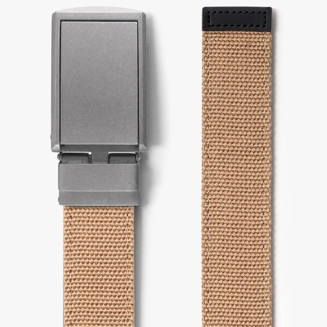 Burlap Canvas Belt