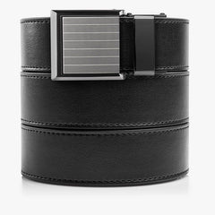 Womens Vegan Black Belt - SlideBelts