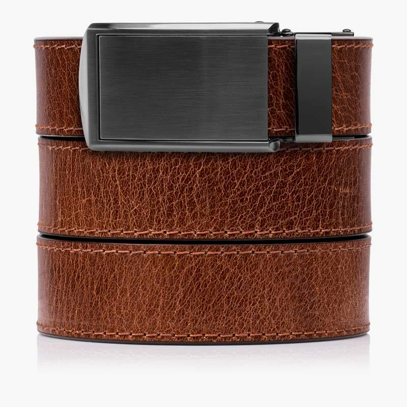 Cayenne Full Grain Leather Golf Belts - SlideBelts