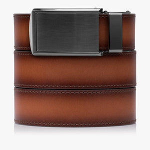 Cognac Full Grain Leather Golf Belts
