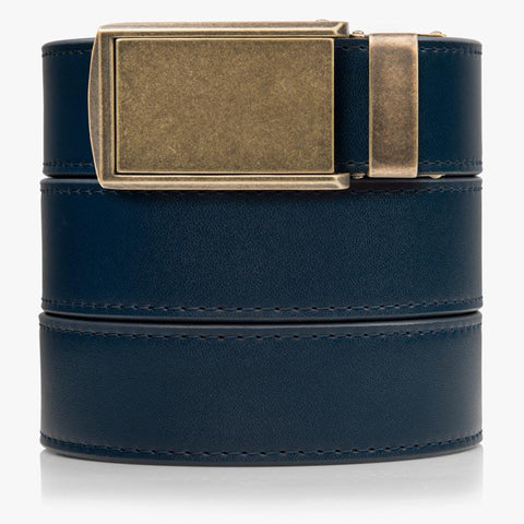 Vegan Navy Belt - SlideBelts