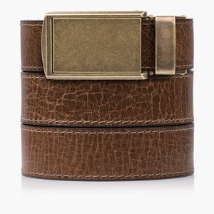 Hickory Full Grain Leather Golf Belts