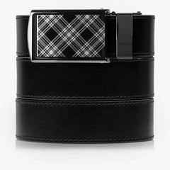 Onyx Full Grain Leather Golf Belt - SlideBelts