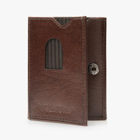 Slim Leather Wallets - SlideBelts