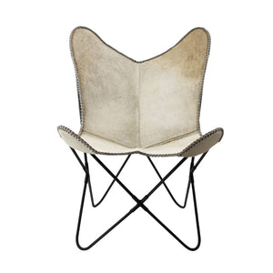 Butterfly Chair Cow Grey by Melanie Interior Design