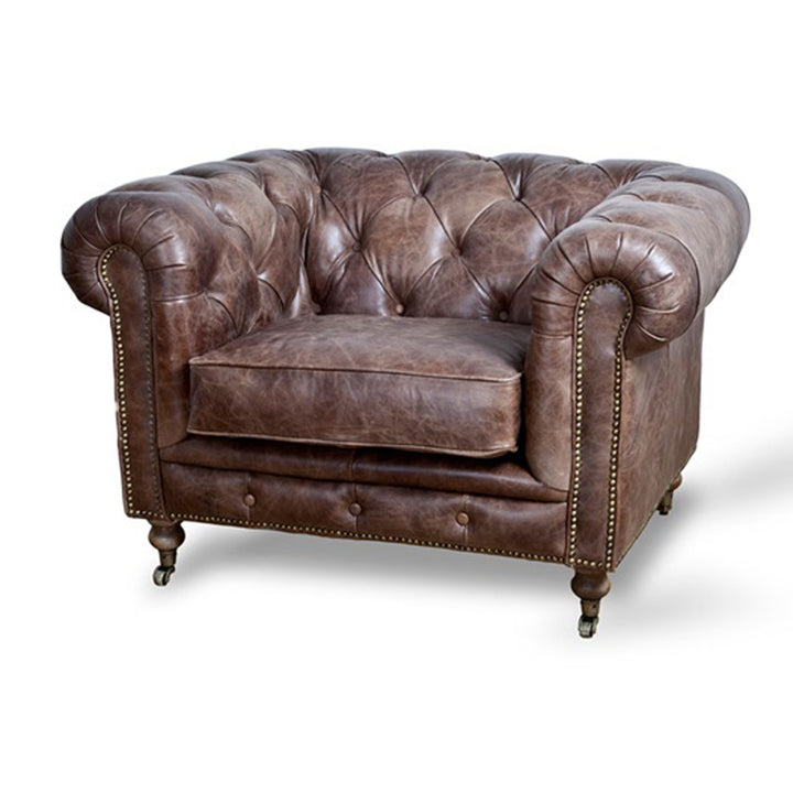 Chair Chesterfield Brown