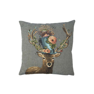 PILLOW DEER HAT SET VON 2