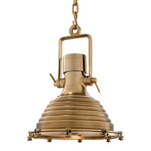 LAMP MARITIME ANTIQUE BRASS FINISH