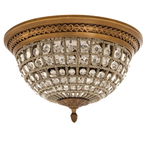 CEILING LAMP KABASH ANTIQUE BRASS FINISH