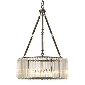 CHANDELIER INFINITY GUNMETAL FINISH