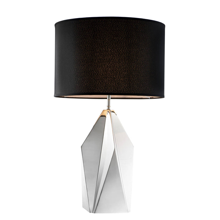 Table Lamp Setai Nickel Finish